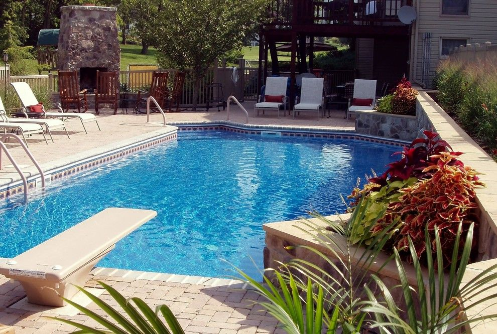 Goodall Pools for a Traditional Pool with a Traditional and Pool with Gazebo by Goodall Pools & Spas