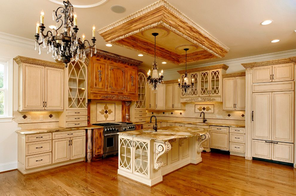 Gothic Cabinet for a Traditional Kitchen with a Traditional and Rockville, Md Kitchen Renovation by Ferguson Bath, Kitchen & Lighting Gallery