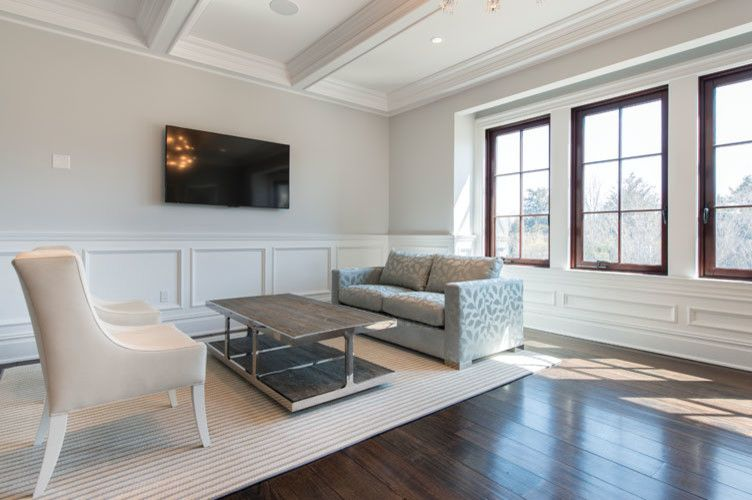 Grafton Furniture for a Transitional Living Room with a Custom and Hamptons Project by Grafton Furniture