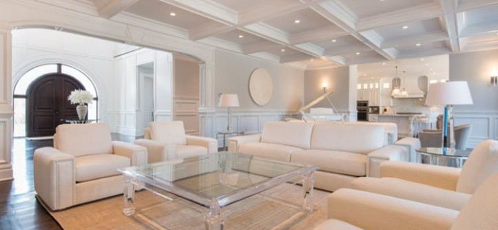 Grafton Furniture for a Transitional Living Room with a Deisgn and Hamptons Project by Grafton Furniture