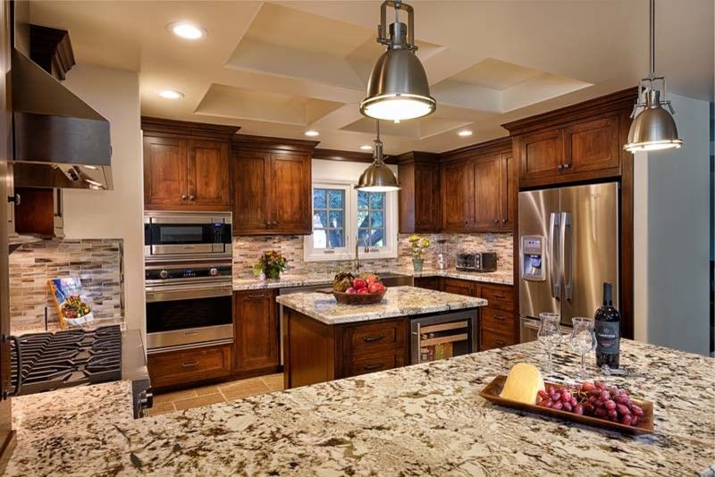 Granite Countertop Edges for a  Spaces with a  and Southern California by Ferguson Bath, Kitchen & Lighting Gallery