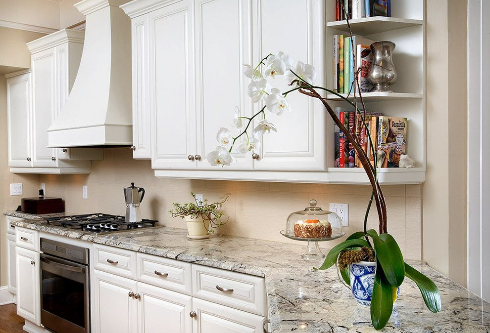 Granite Countertop Edges for a Traditional Kitchen with a White Kitchen and Ramos Design Build Corporation   Tampa by Ramos Design Build Corporation