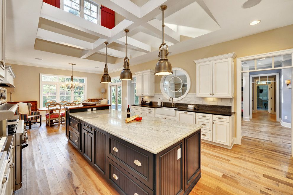 Granite Edges For A Beach Style Kitchen With A Open Kitchen And Kitchen By  Echelon Custom Homes
