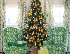 Green Demolitions for a Traditional Living Room with a Eclectic and Tobi Fairley Holiday by Tobi Fairley Interior Design