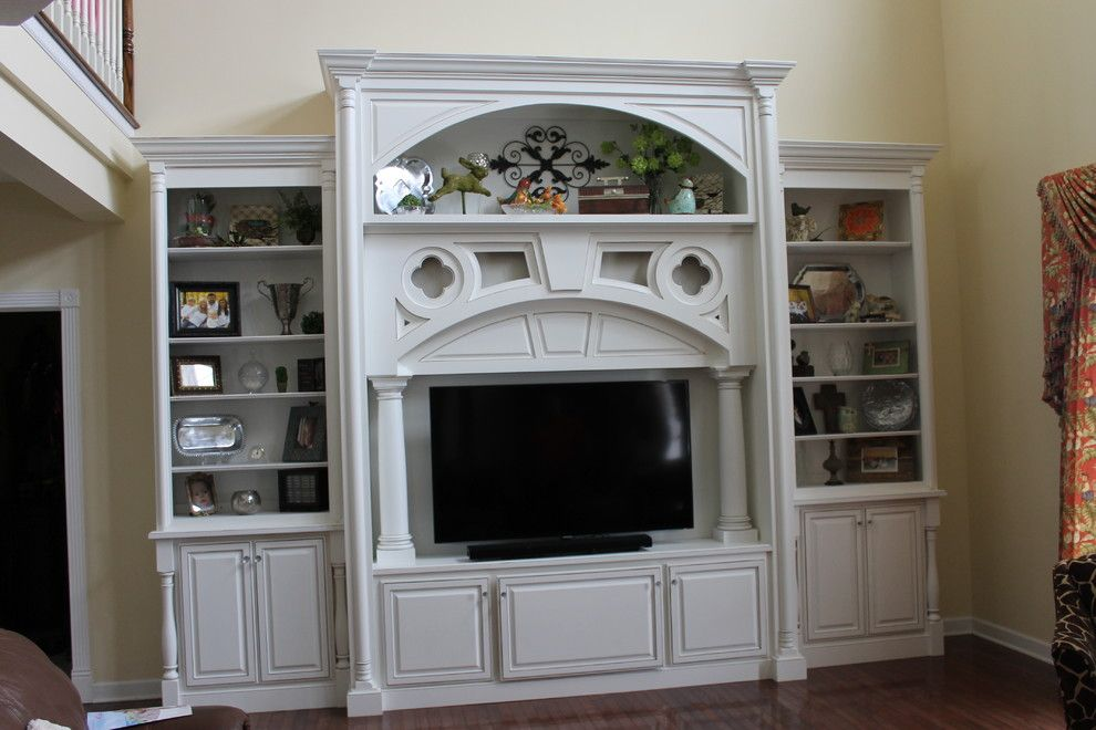 Greenfield Cabinets for a  Spaces with a  and Entertainment Center by Greenfield Cabinets
