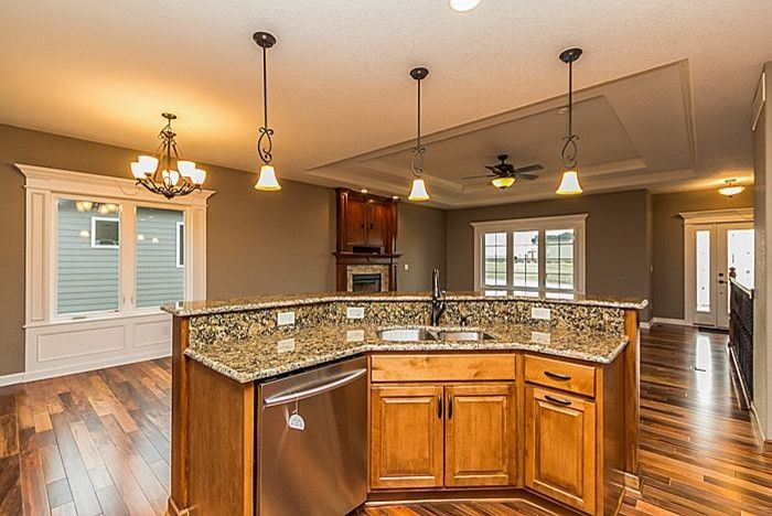 Grimes Realty for a Contemporary Spaces with a Rich Woodwork and Dan Homes New Construction Grimes by Tracy Adams -    Iowa Realty