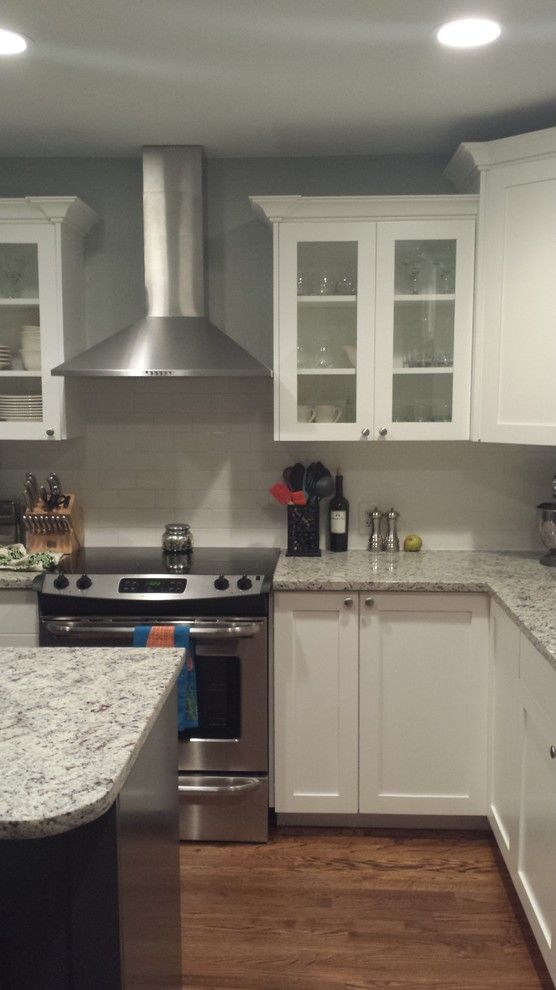 Hahn Appliance Tulsa for a Traditional Kitchen with a Contemporary and Vaughn' Remodel by Arches Construction Corp.