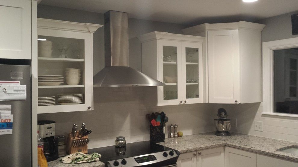 Hahn Appliance Tulsa for a Traditional Kitchen with a Tulsa Remodel and Vaughn' Remodel by Arches Construction Corp.