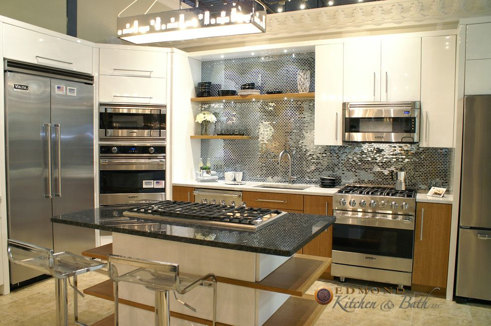 Hahn Appliances for a Contemporary Kitchen with a Hahn Appliance and Showroom at Hahn Appliance by Edmond Kitchen & Bath Llc