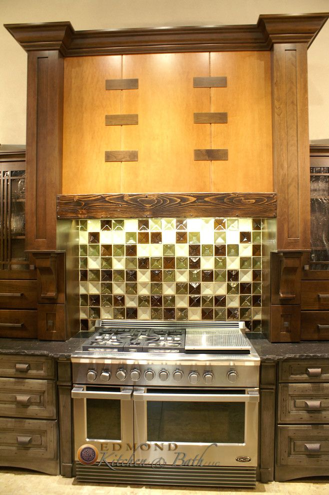 Hahn Appliances for a Traditional Kitchen with a Edmond Kitchen and Showroom at Hahn Appliance by Edmond Kitchen & Bath Llc