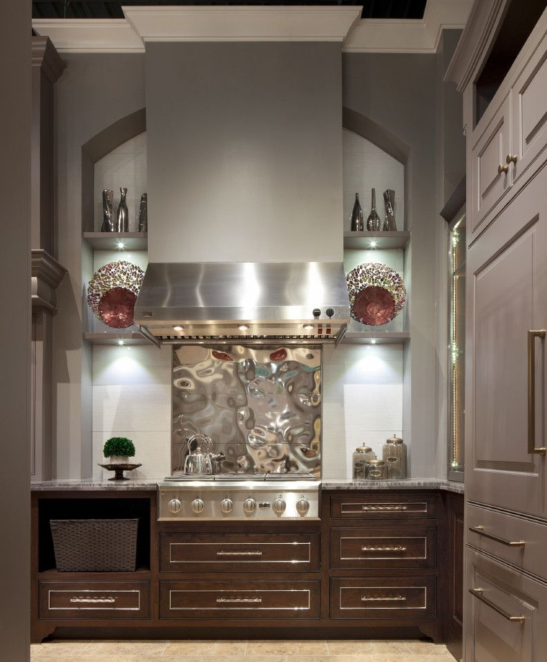 Hahn Appliances for a Transitional Spaces with a Bar Pulls and Showroom at Hahn Appliance by Edmond Kitchen & Bath Llc