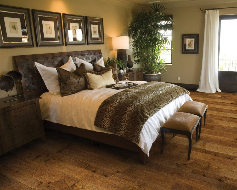 Hallmark Flooring for a Asian Bedroom with a Home Interiors Flooring and Puebla Monterey Hardwood Flooring Collection by Hallmark Floors