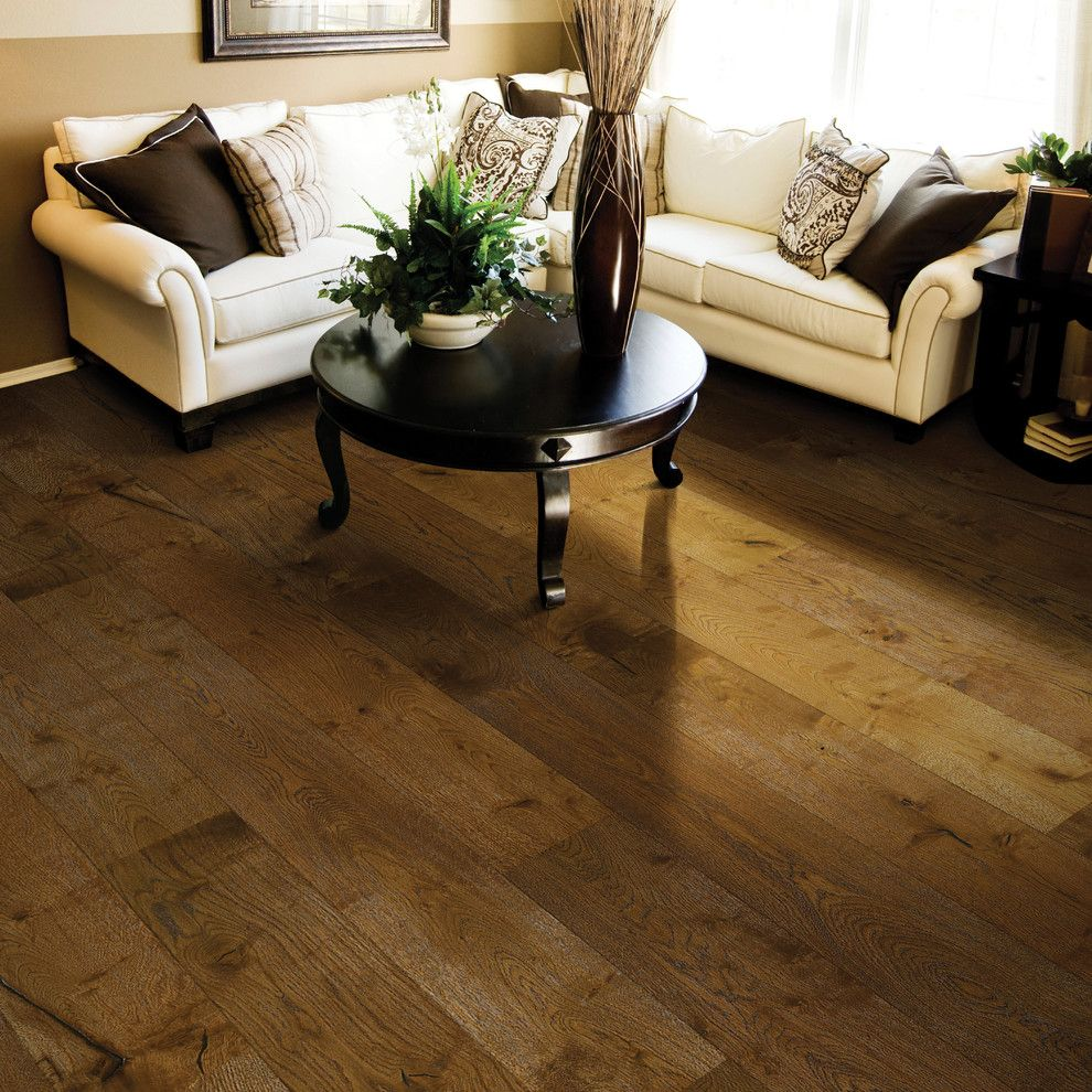 Hallmark Flooring for a Contemporary Living Room with a Alta Vista and Carmel Alta Vista Hardwood Flooring Collection From Hallmark Floors Inc by Hallmark Floors