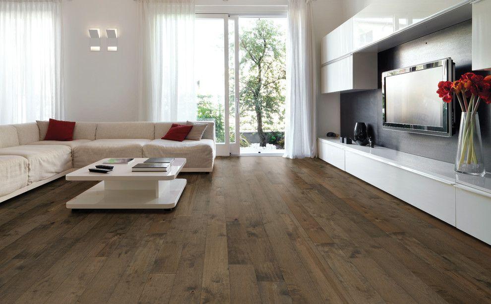 Hallmark Flooring for a Modern Living Room with a Hallmark Hardwoods and Stony Brook Moderno Collection Under Hallmark Hardwoods by Hallmark Floors by Hallmark Floors