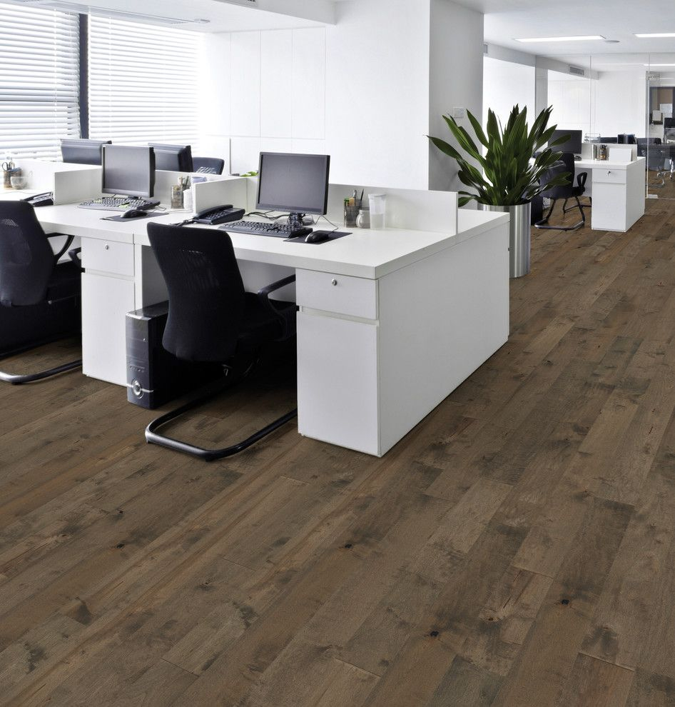 Hallmark Hardwoods for a Modern Home Office with a High End Wood Floors and Moderno Commercial Collection Under Hallmark Hardwoods by Hallmark Floors by Hallmark Floors