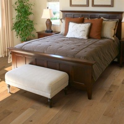 Hallmark Hardwoods for a Traditional Bedroom with a Ventura and Hallmark Hardwoods Ventura Collection by Troys Flooring, Llc