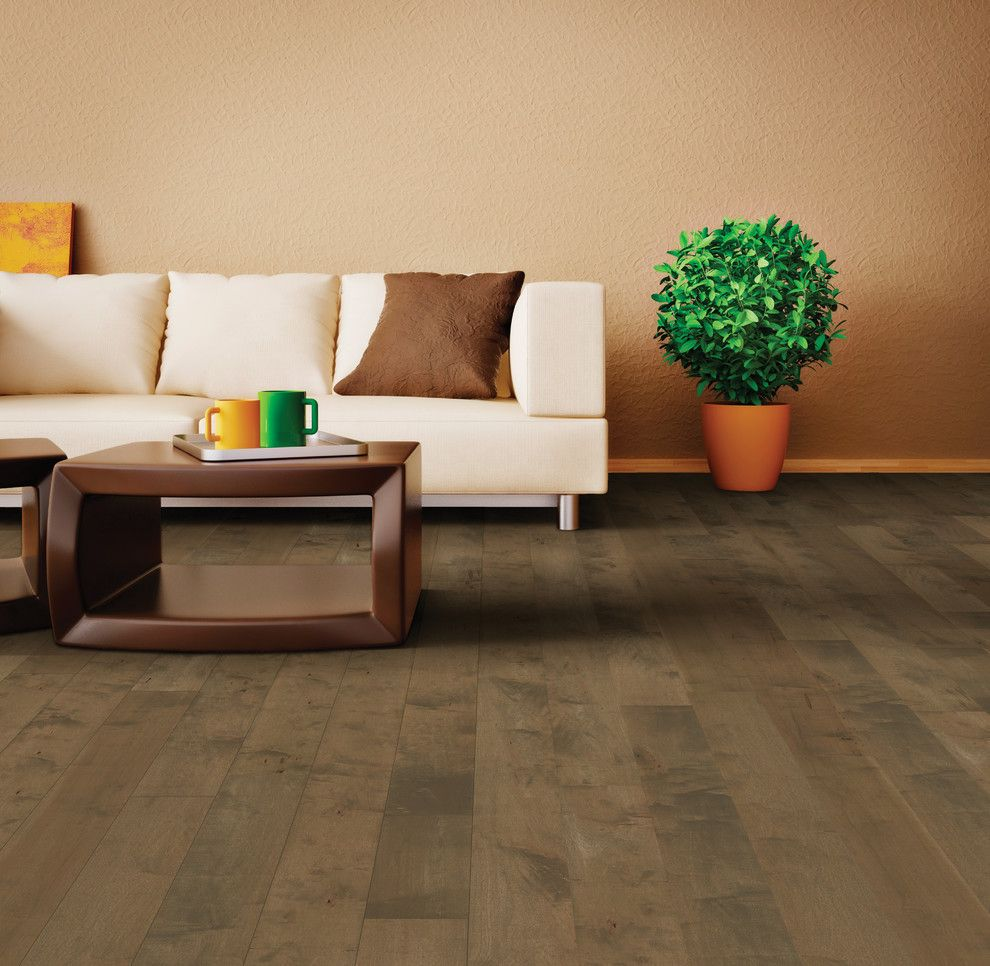 Hallmark Hardwoods for a Transitional Living Room with a Hallmark Floors Moderno Collection and Oyster Bay Moderno Collection Under Hallmark Hardwoods by Hallmark Floors by Hallmark Floors