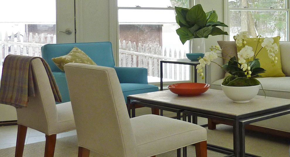 Hammary for a Contemporary Living Room with a Comfortable and Albany Living Space Designs by Hudson Valley Design
