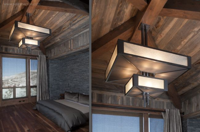 Hammerton Lighting for a Craftsman Spaces with a Master Bedroom and Beaver Creek Residence by Hammerton Lighting