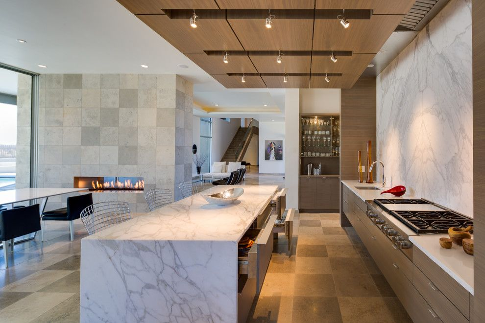 Hanks Furniture for a Contemporary Kitchen with a Spotlights Downlights and Corralles Contemporary by Ernest Thompson Furniture Company