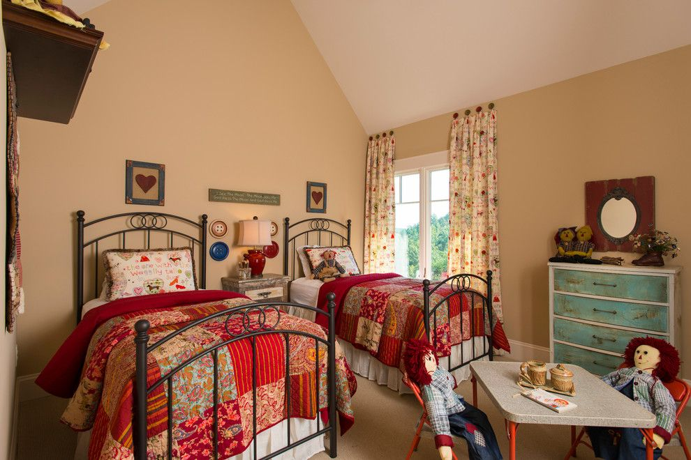 Hanks Furniture for a Traditional Kids with a Blue Dresser and 2013 Southern Living Custom Builder Showcase Home by Dillard Jones Builders by Currahee Club