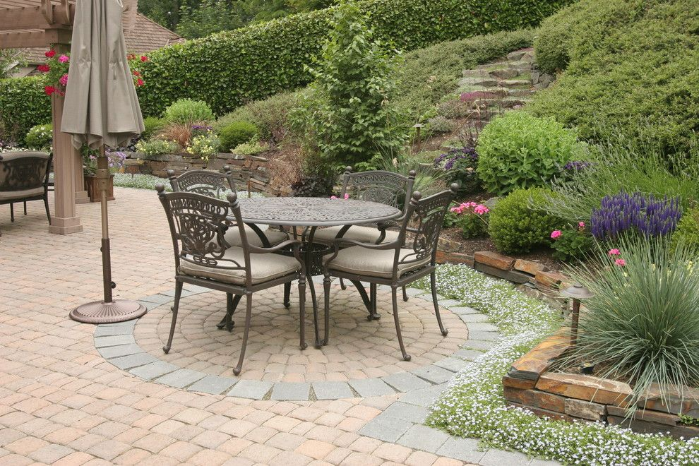 Hanover Pavers for a Contemporary Patio with a Outdoor Cushions and More Project Photos. Please See Us at Classicnursery.com for More Info by Classic Nursery & Landscape Co. / Alan Burke, Asla