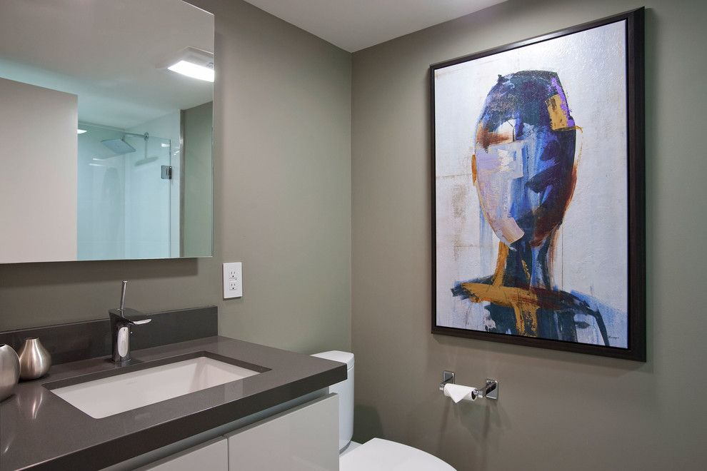 Hansgrohe Usa for a Contemporary Bathroom with a Bathroom and the Morrison by Hansgrohe Usa