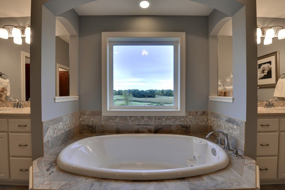 Hanson Builders for a Traditional Bathroom with a Traditional and 16315 54th Ave N, Plymouth   Spring Meadows by Hanson Builders, Inc.
