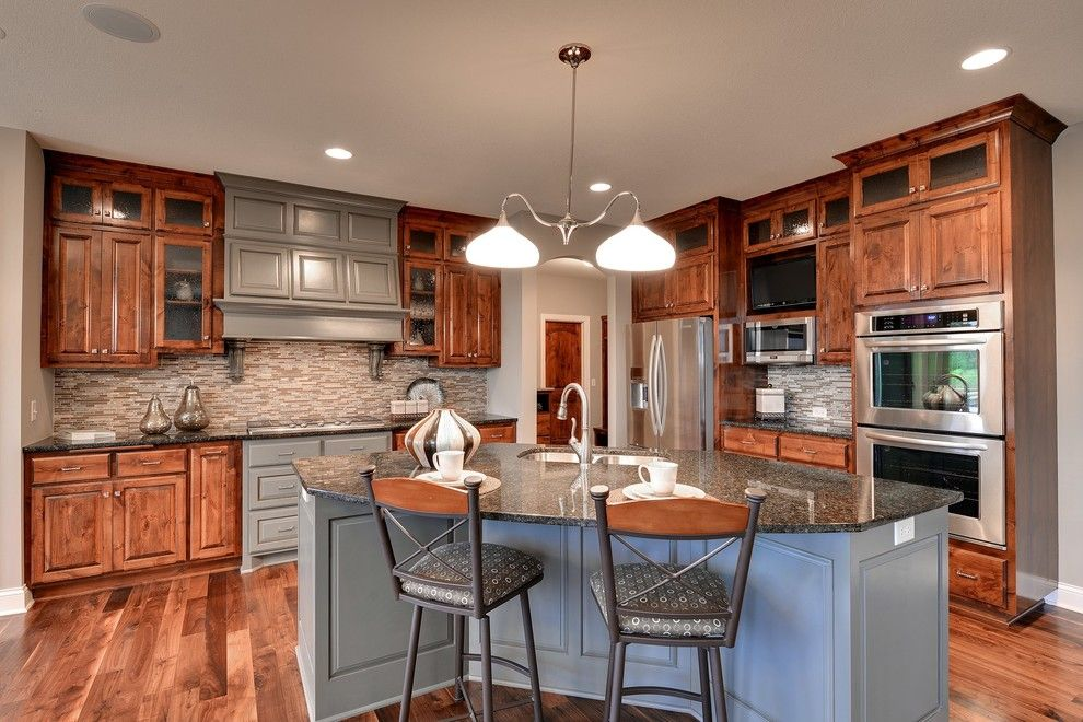Hanson Builders for a Traditional Kitchen with a Traditional and 16315 54th Ave N, Plymouth   Spring Meadows by Hanson Builders, Inc.