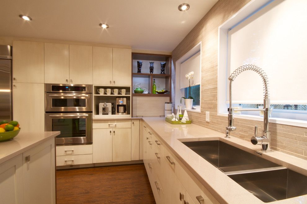 Hanstone for a Contemporary Kitchen with a Kitchen and the Ease of Entertaining by Toc Design