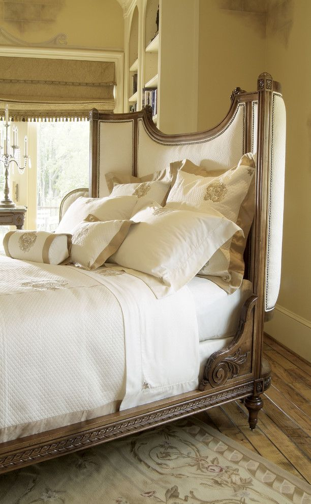 Harden Furniture for a Traditional Bedroom with a Duvet and Upholstered Beds by Almira Fine Furniture