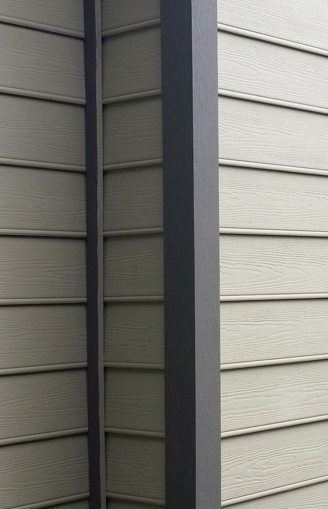 Hardieplank for a Traditional Spaces with a Plank Siding and Hardieplank Beaded Cedarmill Lap Siding Houston Texas by Texas Home Exteriors