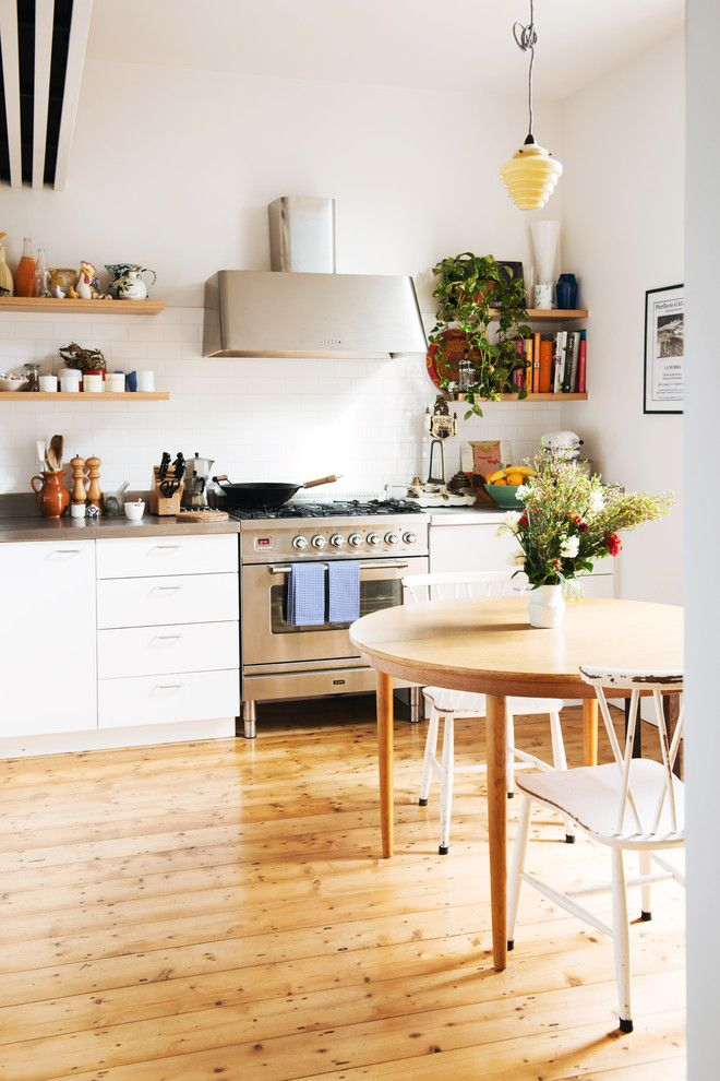 Hardware Hut for a Scandinavian Kitchen with a Old Cottage and Cottage Place by Nest Architects
