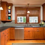 Hartville Hardware for a Traditional Kitchen with a Traditional and Culinary Craftsman by Teakwood Builders, Inc.