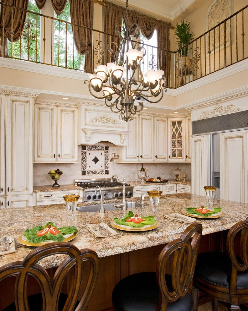 Hbo2go for a Traditional Kitchen with a Dramatic Kitchen and 2 Story Kitchen Remodel by Renaissance Kitchen and Home