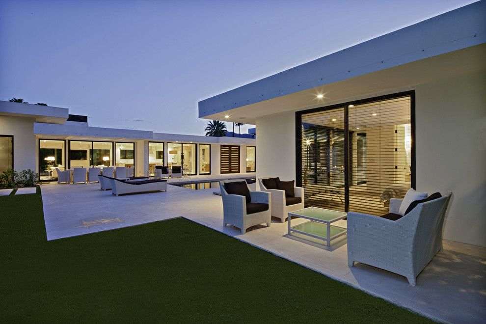 Hdhd for a Modern Exterior with a Modern and Rancho Mirage by Martin Kobus Home