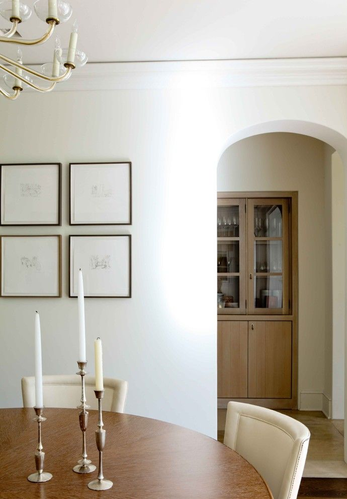 Hefner Furniture for a Transitional Dining Room with a Frames and William Hefner Architecture Interiors & Landscape by Studio William Hefner