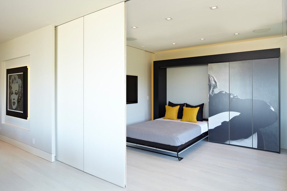 Hemnes Bed Frame for a Contemporary Bedroom with a Studio Becker and Modern Showbiz by Sb La by Studio Becker  Bespoke Cabinetry & Millwork