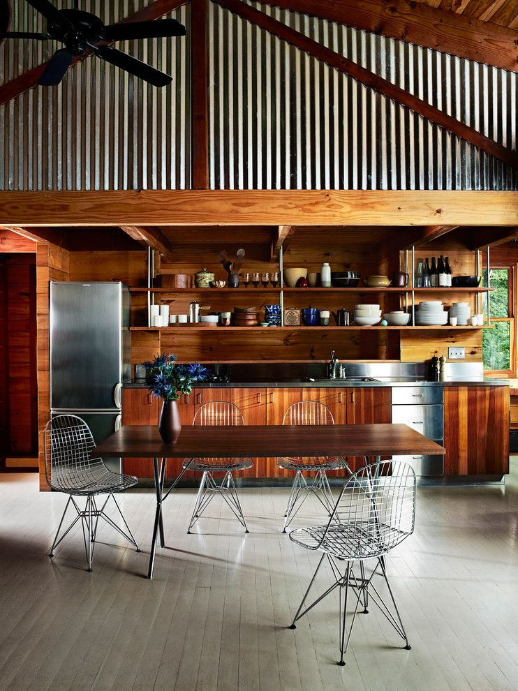 Herman Miller Outlet for a Modern Kitchen with a Nelson and Herman Miller Eames Wire Chairs Kitchen Dining by Herman Miller