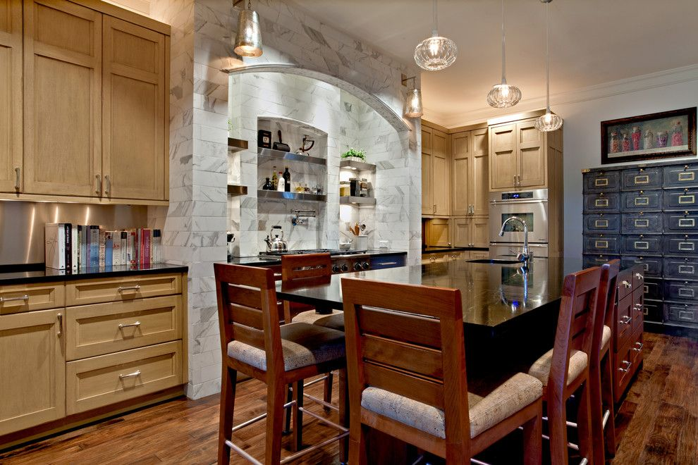 Hermitage Lighting for a Modern Kitchen with a Under Cabinet Lighting and Kitchens by Hermitage Kitchen Design Gallery