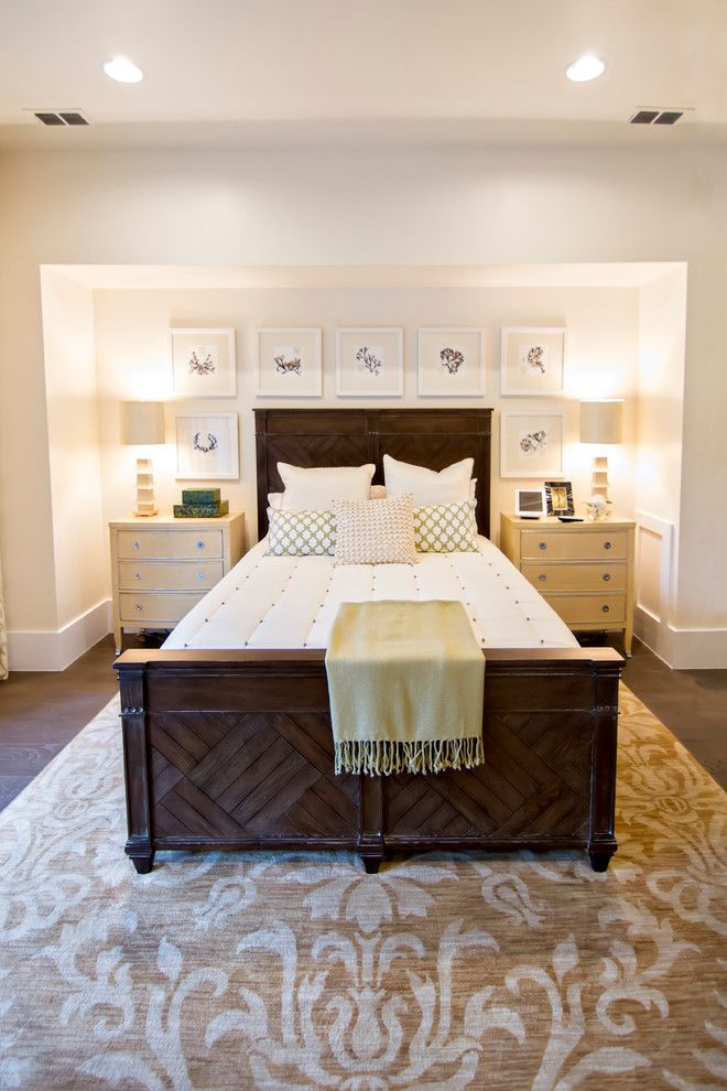 Hgtv Smart Home for a Tropical Bedroom with a Beige Nightstand and Hgtv Smart Home 2013 by Glenn Layton Homes