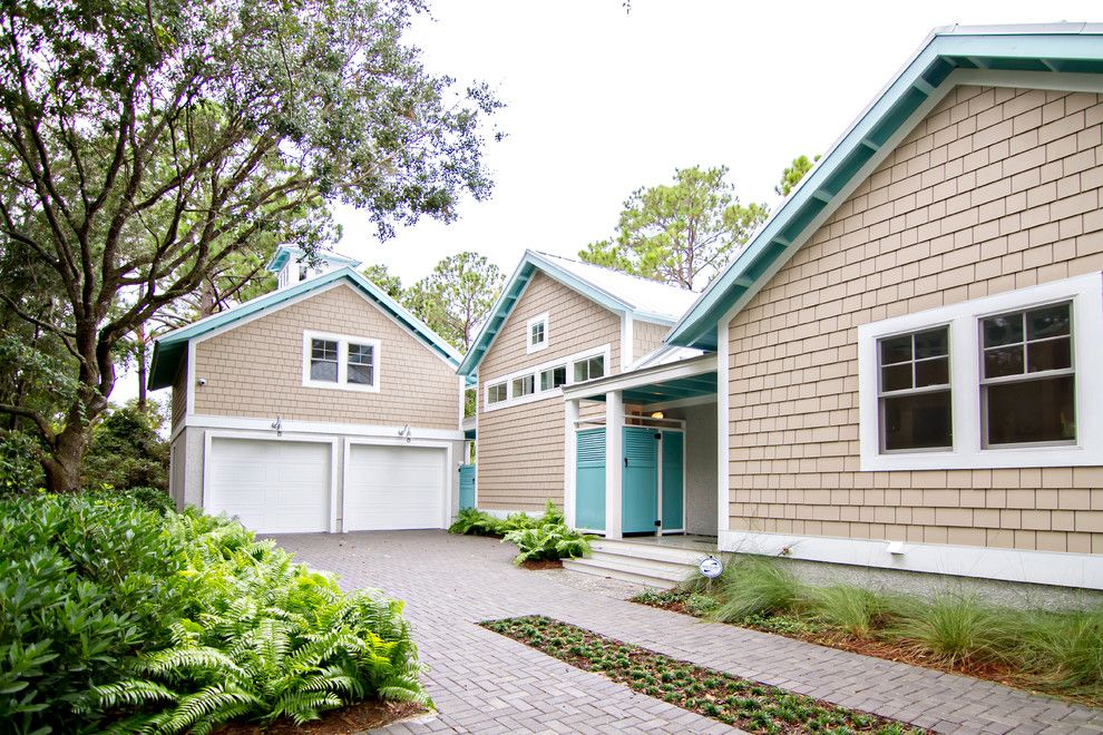 Hgtv Smart Home for a Tropical Garage with a Brick Driveway and Hgtv Smart Home 2013 by Glenn Layton Homes