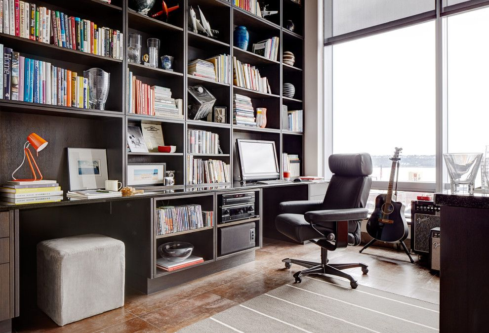 Hickory Chair for a Contemporary Home Office with a Home Ofice and Stressless Design Gallery by Stressless