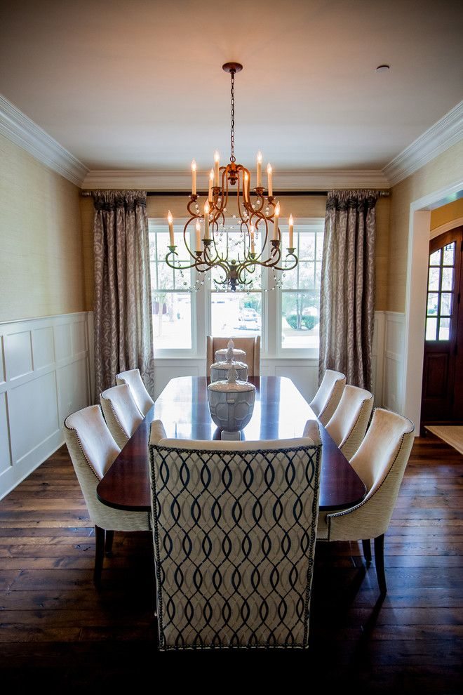 Hickory Chair for a Traditional Dining Room with a Barbara Barry and Dining Room by Donna Mondi Interior Design