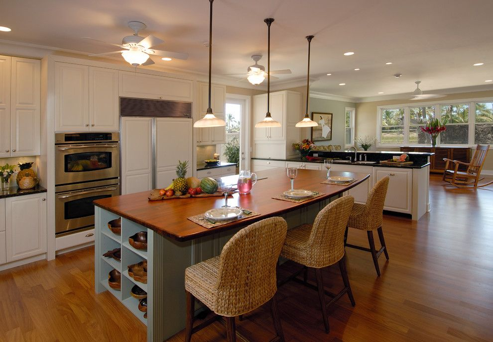 Hickory Chair Furniture for a Transitional Kitchen with a Kitchen Lighting and Kitchen & Bathroom Remodel Hawaii by Ferguson Bath, Kitchen & Lighting Gallery