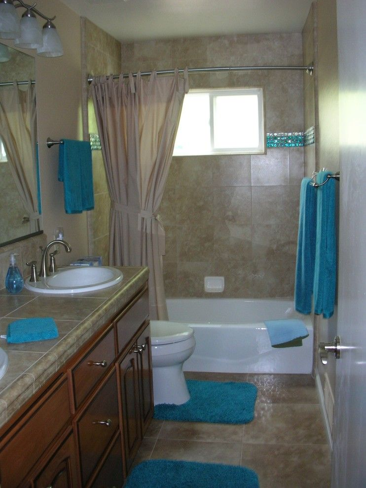 Hiline Homes for a Traditional Bathroom with a Small Bathrooms and Big Changes for Small Bathrooms by Hiline Builders Inc.