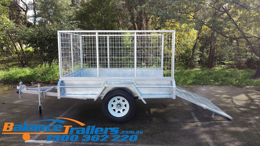 Hilltop Trailer Sales for a  Spaces with a Galvanised Trailer and Galvanised Trailers for Sale by Balance Trailers