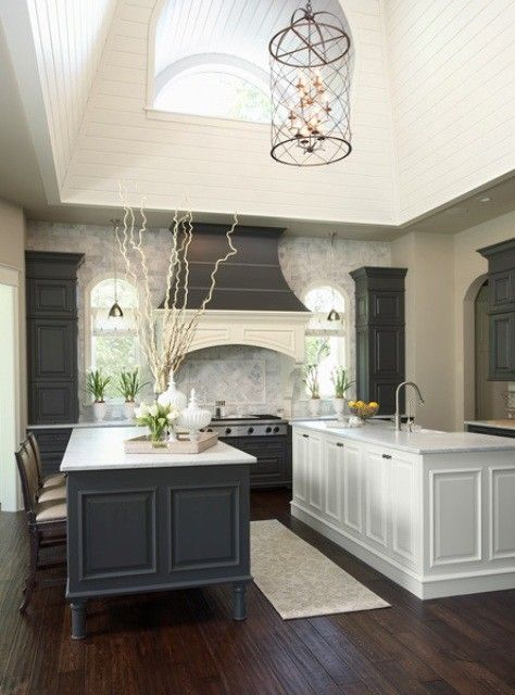 Hirshfields for a Transitional Kitchen with a White and Minnesota Residence 2 Kitchen by Martha O'Hara Interiors