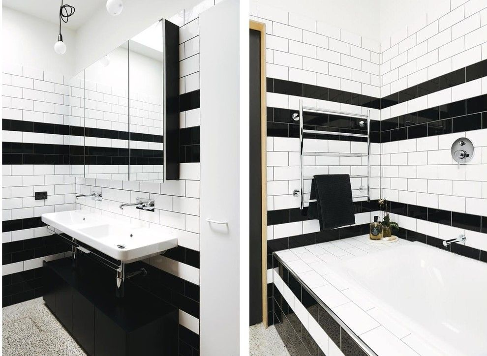 Holden Roofing for a Contemporary Bathroom with a Cottage and Holden Street by Nest Architects