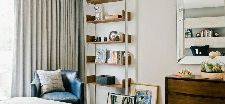 Holland and Sherry for a Contemporary Kids with a Mirror and Boy's Room by PLATEMARK DESIGN